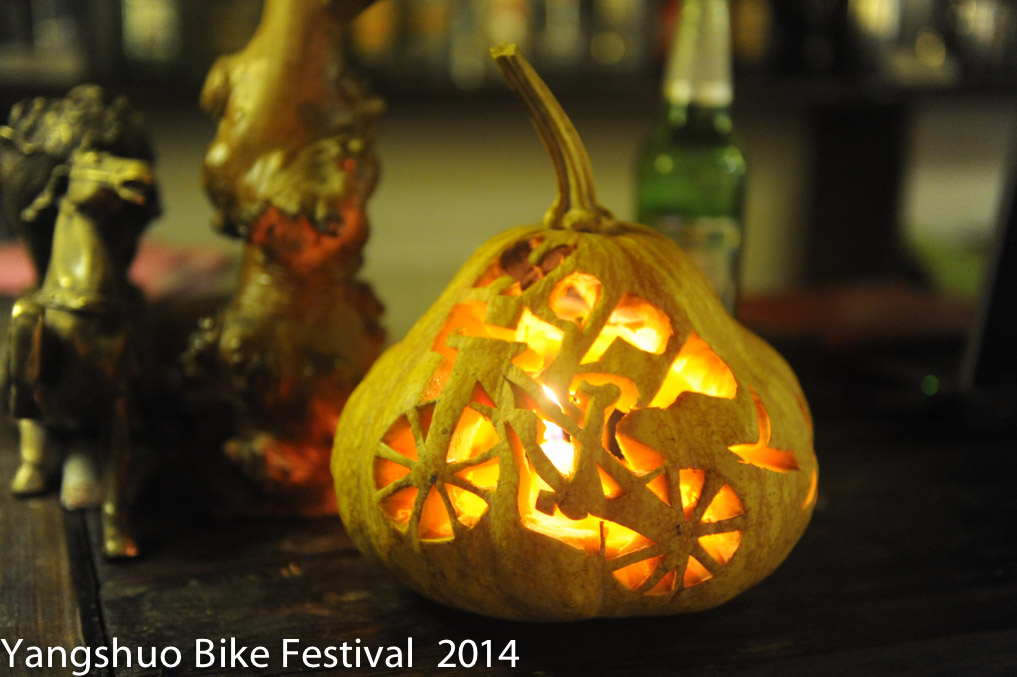 A bike festival layered onto a Halloween Party.