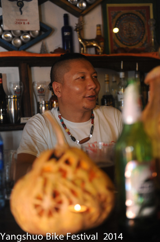 Chorten, a Machu Nomad  from eastern Tibet, remembers the excitement of the first bikes coming to he grasslands.