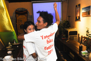 The Tibetan's of Xing ping showing of the festival T-shirt.